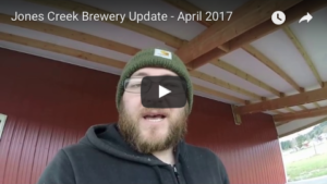 Jones Creek Brewing - April 2017 update